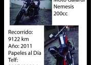 moto custom / galardi nemesis 200cc negociable