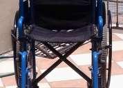 silla de ruedas como nueva !