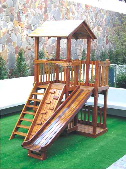 Vendemos Juegos Infantiles En Madera Para Jardines Parques Quito