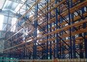 Estantes metalicos, racks industriales, perchas