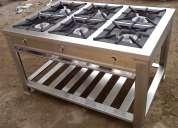 Cocinas industriales en acero inoxidable personalizadas