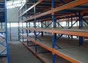 Racks industriales, sistemas de almacenaje desmontables y regulables