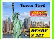 Nueva york desde $387