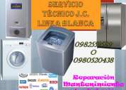 Reparacion de calefones lavadoras secadoras refrigeradoras mantenimiento 09-89140352