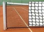 Red para canchas de tenis de alta resistencia a la intemperie