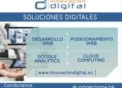 servicios digitales, diseño de pagina web quito