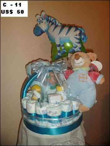 Embarazadas nacimientos maternidad regalo canastos decorados pasteles tortas de pañal flores