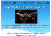 clases y mantenimiento de guitarras y requintos  a domicilio en quito y los valles
