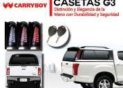 Casetas carryboy para camionetas
