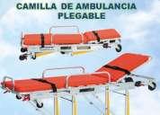 Camilla de ambulancia excelente para equipar tu hospital nueva