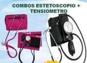 Tensiometro + estetoscopio combo