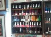 Repisas para exhibir pinta uÑas o esmaltes...se vende  buena..bonita  ..barata..