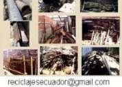 Compro chatarra, industrial, textil, pesada, viales ...0979012279