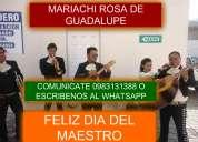 Mariachis en machachi  0983131388  estamos en todo el sur mariachi rosa de guadalupe