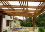 Techos corredizos con policarbonato y vidrio cubierta en aluminio maderado