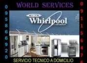 Reparacion mantenimiento refrigeradoras,lavadoras,secadoras, whirlpool,frigidaire / 0995-866-920