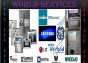 Servicio tecnico delavadoras,seacdoras,refrigeradoras,aires acondicionados / 0995-866-920