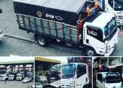 Servicio de alquiler de un camion  para mudanzas