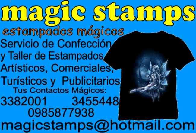 ESTAMPADOS MAGICOS EN QUITO ECUADOR