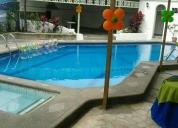 alquilo excelente local exterior con piscina
