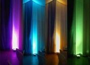 Excelente reflector multicolor rgb de 50wttas