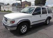 Excelente ford explorer año 2001 flamante