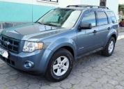 vendo excelente ford escape 2010 flamante