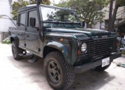 Oportunudad defender td5 doble cabina 110 land rover año 2002