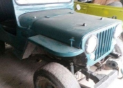 Vendo varios jeep willys