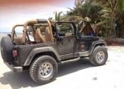 Vendo excelente jeep wrangler zahara 98