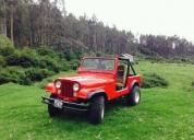 Hermoso jeep restaurado.aprovecha ya!