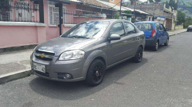 Chevrolet Aveo Emotion 2014 Quito Doplim 715753