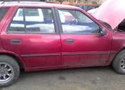 Vendo auto hyundai excel en buen estado
