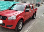 Vendo flamante camioneta wingle 2014