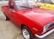 Excelente Camioneta Datsun 1200 Motor 1.2 1990 Roja
