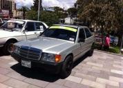 Mercedes benz 190e clasico, flamante