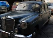 Excelente mercedes clasico 1960 modelo 190