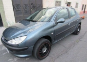 Oferta flamante peugeot berlina 206