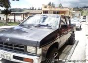Camioneta doble cabina nissan 1994