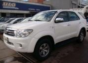 Toyota fortuner precio conversable