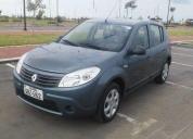 Renault sandero 2011 1.6 mecanico en muy buen estado