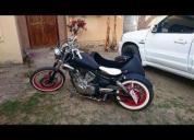 Excelente bobber con sidecar yamaha virago 250cc