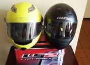 Vendo 2 cascos homologados