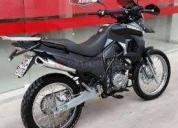 Moto motor 1 nazca 250 desert negra 2014