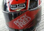 Excelente casco para moto talla l
