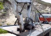 Vendo brazo hidraulico hiab 650