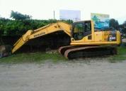 Excavadora pc2008,contactarse.