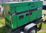 Vendo generador de 25 kva en buen estado