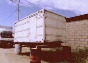 Vendo furgon metalico en buen eestado