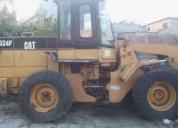 Vendo cargadora cat 924f.contactarse.